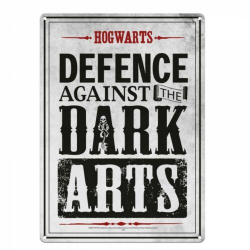 Harry Potter Defence Against The Dark Arts Tin Sign A5 Wall Plaque